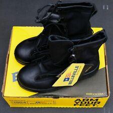 Belleville 700V Black Waterproof Duty Boots Made in USA. Size 8W 8.0 Wide
