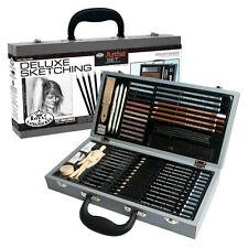 RSET-SKET2000 Royal & Langnickel Deluxe Sketching Box Set 58 Piece