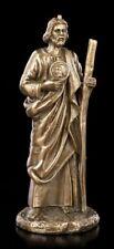 Pequeñas Santo Judas Tadeo Figura - Bronceada - Estatua de religión