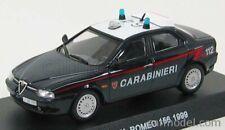 Alfa Romeo 156 Carabiniers /& POLIZIA 1//43 1999 Italian Bburago 2 Voiture Set Nouveau
