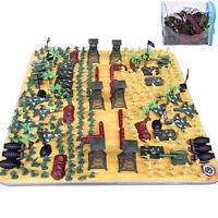 300pcs/set Soldier Kit Action Figures Military Army Men Sand Scene Model  TOUS