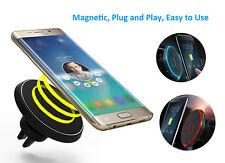 CAR Qi Wireless Charger Magnetic Air Vent Mount For Samsung Galaxy S8 iPhone X 8