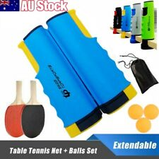 Table Tennis Net Rack Portable Retractable Replacement Ping Pong Kit Sports AU