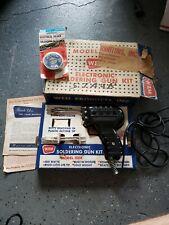 VINTAGE WEN MODEL 100k ELECTRONIC SOLDERING GUN KIT IN ORIGINAL BOX TESTED WORKS