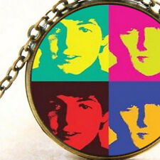 New The Beatles Rock Band Inspired Colourful Pendant Necklace, Unisex Gift