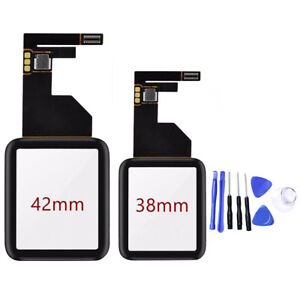 Touch Screen Digitizer Glass Lens Panel For Apple Watch iWatch series 1 38/42mm