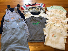 Baby Boy Summer Clothing Lot Size 6 Months Carter's