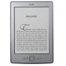 "Amazon Kindle Gen4 2 GB 6"" Silver Wi-Fi e-Reader 2011 (Model No D01100) LOCKED"
