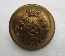 """British:""""ARMY DENTAL CORPS BRASS BUTTON"""" (WW2 Period, Officer's, Large, 26mm)"""