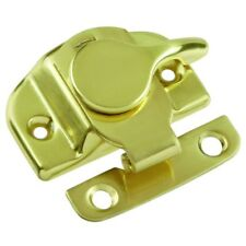 Hickory Hardware Clamp-Tight Sash Lock For Windows, Solid Brass, #1503