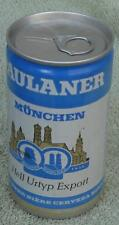 Vintage Paulaner München Beer Can, Pull Tab, VERY GOOD COND COLLECTIBLE