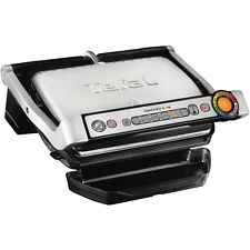 Tefal OptiGrill Plus Non Stick Contact Health Grill Press Griddle Sandwich Maker