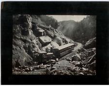 Vintage Mounted Photo - Phantom Curve near Hanging Rock, Garden of the Gods, CO