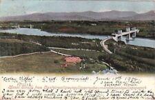Postcard Menai Straits Llanfairpwllgwyngyllgogerychwyrndrobwllandysiliogogogoch