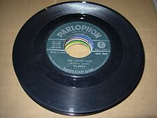 "BEATLES she loves you / i'll get you ( rock ) 7"" / 45 - parlophon italy"
