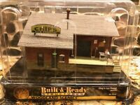 "Woodland Scenics HO / HOn3 #BR5028 Chip's Ice House ""Built & Ready"" Series"