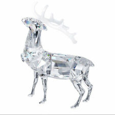 Swarovski Christmas Stag 1133076 New In Box. Never on Display. Free Shipping