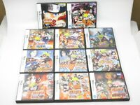 Naruto Jump Anime Ninja Action Battle RPG Game set Takara Tomy Nintendo DS Japan