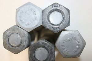 M24 X 100 10.9 HR Galvanised.  Pre-loaded Bolt Assembly