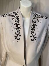 Hobby Horse Rhinestone Embellished Blazer