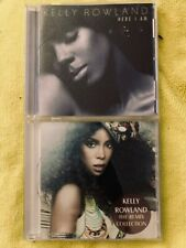 Kelly Rowland LOT 2 CD's Here I Am  + REMIX COLLECTION BEST OF Commander, Work