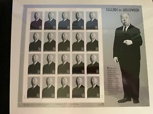us stamps SC# 3226 Alfred Hitchcock sheet of 20 MNH 32c 1998