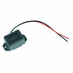 12V Electronic Buzzer with Flying Leads