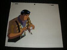 "Cadillacs & Dinosaurs Cartoon Animation Prod. Cel 10.5x9"" Jack Tenrec 388 E-11"