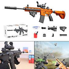 Toy Gun Weapon M416 Automatic & Manual Kids Water Bullets Guns CS + Ammo Clip E
