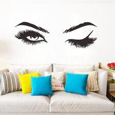 Pretty eyelashes Wall Sticker living room decor Mural Art Decals Sexy stickeBFBF