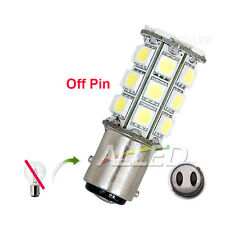 12V LED 1157 BA15D Off Pin Globe Bulb Anchor/RV/Car/Tail/Reverse Lamp 27SMD