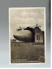1930 Germany Graf Zeppelin RPPC Postcard Cover LZ 127 Switzerland Flight