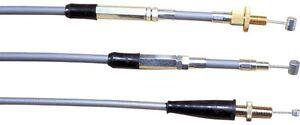 Motion Pro Black Vinyl OE Push/Pull Throttle Cable Set