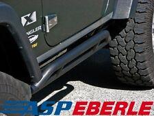Schwellerrohre schwarz Flankenschutz 2 Türer Seitenschutz Jeep Wrangler JK 07-