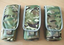 NEW - Genuine MoD Issue MTP Multicam Single Magazine Ammo Pouch x Set of THREE