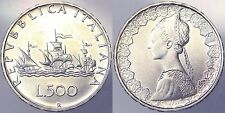 500 LIRE 1986 REPUBBLICA ITALIANA ITALY ARGENTO SILVER #4089A