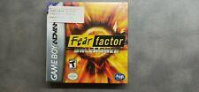 Fear Factor Unleashed Nintendo Game Boy Advance GBA SEALED NTSC