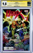 🌟 DAVE BAUTISTA 4X-SIGNED! DRAX #1 CGC 9.8 NM+ GUARDIANS OF THE GALAXY Avengers