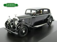 BNIB O GAUGE OXFORD 1:43 43R25003 ROLLS ROYCE 25/30 THRUPP & MABERLY BLACK