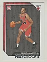 2018-19 Panini Hoops #270 WENDELL CARTER JR RC Rookie Bulls QTY AVAILABLE