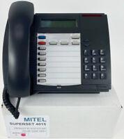 Mitel Superset 4015 Digital Phone - 9132-015-200 - Dark Gray -Refurbished - Bulk