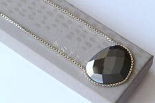 """Silpada Sterling Silver & Faceted Hematite """"Ignite"""" Pendant Necklace N2917 $149"""