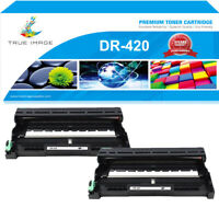 2 Pack Drum Unit for Brother DR420 DR-420 HL-2270DW HL-2240 HL-2280DW MFC-7360N