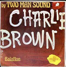7inch TWO MAN SOUND carlie brown HOLLAND 1975 EX