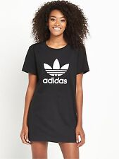 Womens adidas Originals Trefoil Tee Dress in Black From Get The Label 10 Ay8123blk165
