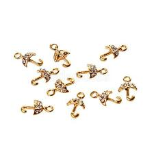 10x Umbrella Hanging Crystal Charms DIY Jewelry Craft For Necklace Bracelet