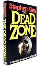 The Dead Zone by Stephen King It Dark Tower Stand Shining Cujo RARE HARDCOVER VG