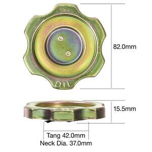 Tridon Oil Cap TOC516 fits Honda Civic 1.5 (AN), 1.5 GL (AH), 1.5 GL (AK,AM,A...