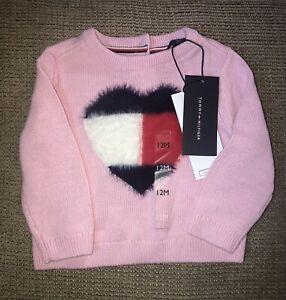 Tommy Hilfiger toddler girls sweater size 12 months