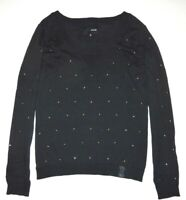 Hurley Womens Bruna Knit Crew Sweater Top Small $55